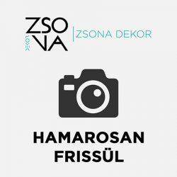 MI-023 mécsestartó szív alakú fából