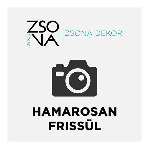 Dekorációs Húsvéti tojás nyuszi mintával, talppal fából