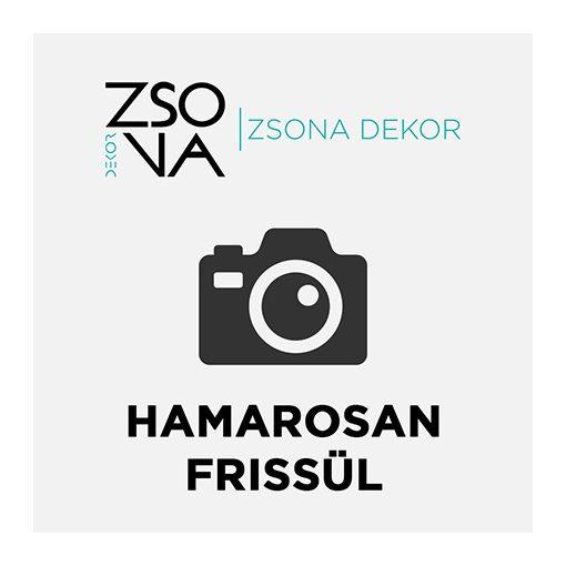 Ovális dekorációs fa tábla Mert szeretlek 5db/csomag