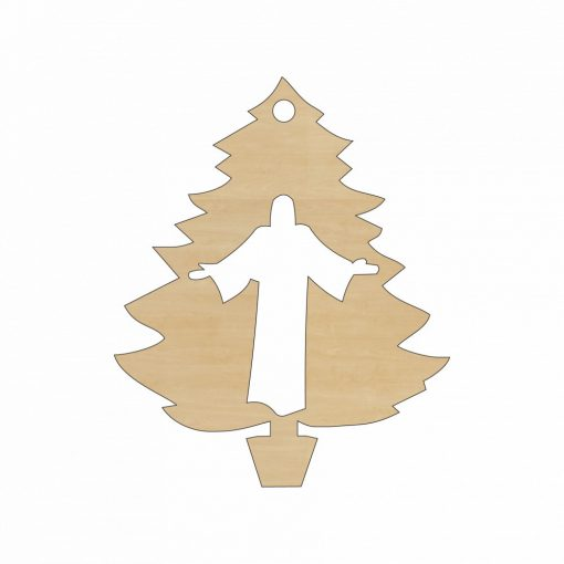 XM-112 Karácsonyi dísz fából Karácsonyfa egyházi dísszel