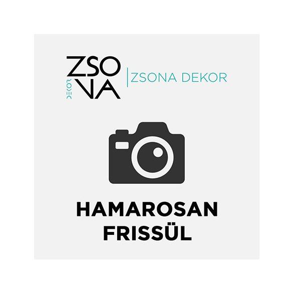 Bakelit óra horgász mintával fehér plexiből