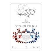 Pálinkás cimke A násznép egészségére Birsalma 10 db/csomag
