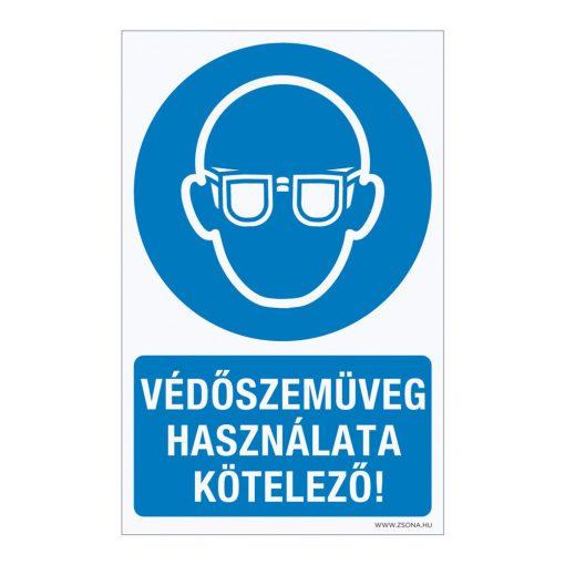 Védőszemüveg használata kötelező! Műanyag tábla 160x250 mm