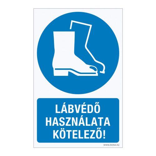 Lábvédő használata kötelező!