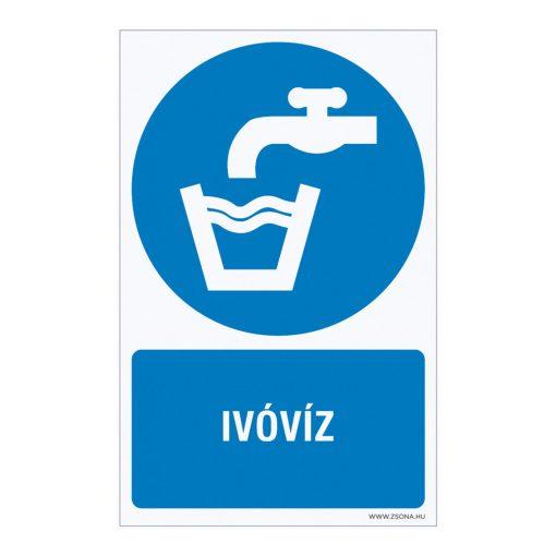 Ivóvíz Öntapadós matrica