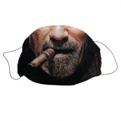 Mosható textil szájmaszk Szivar mintával