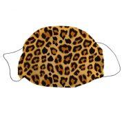 Mosható textil szájmaszk Leopárd mintával