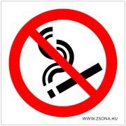 Tilos a dohányzás!