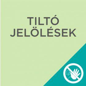 Tiltó jelölések